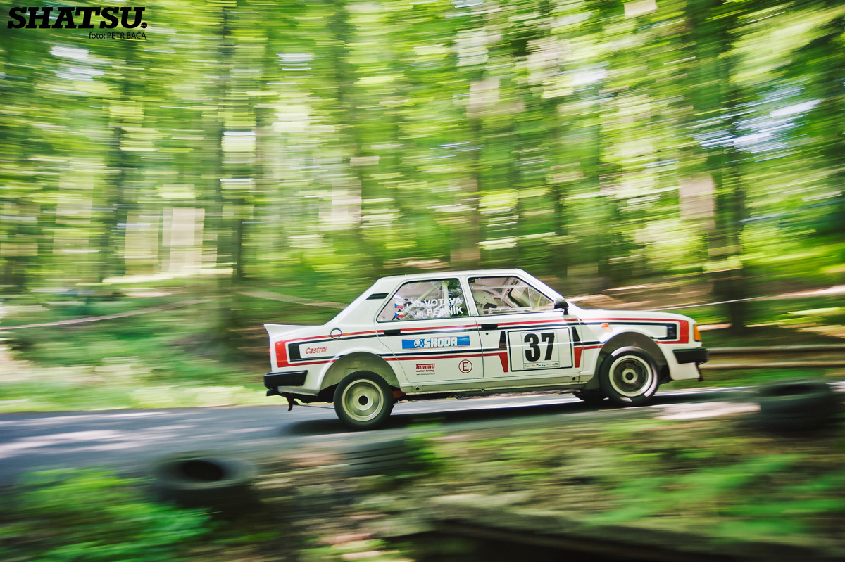 Rally Krušné hory 2014, Litvínov, Janov, Škoda 130LR, ČMPR,