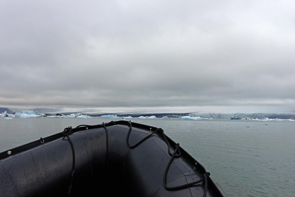 Zodiac Tour Of Jökulsárlón Glacier lagoon,