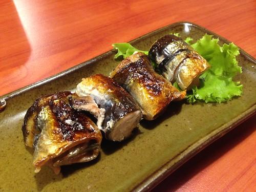 明太子秋刀魚捲, 初穗, 初穗大阪燒, 日本家庭料理, 大阪什錦煎餅, 台北