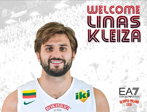 Linas Kleiza: The K Factor is in Milano