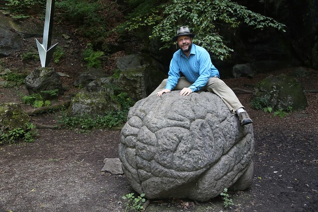 John Hawks riding a giant brain
