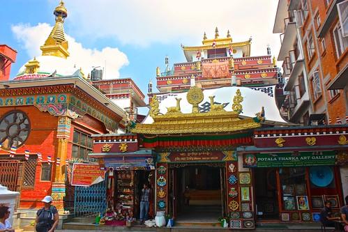Kathmandu Buddhist temple