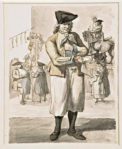The Stocking Seller, by Paul Sandby, 1759