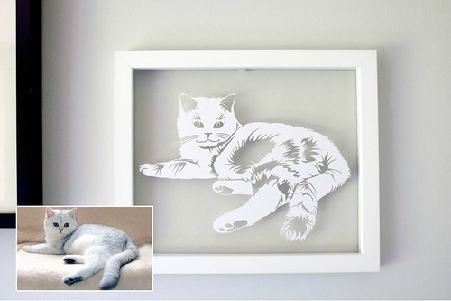 Cat-Paper-Cutting