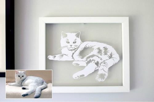 Cat-Paper-Cutting
