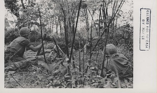 60mm Mortar Section Fire on the Enemy, 1967