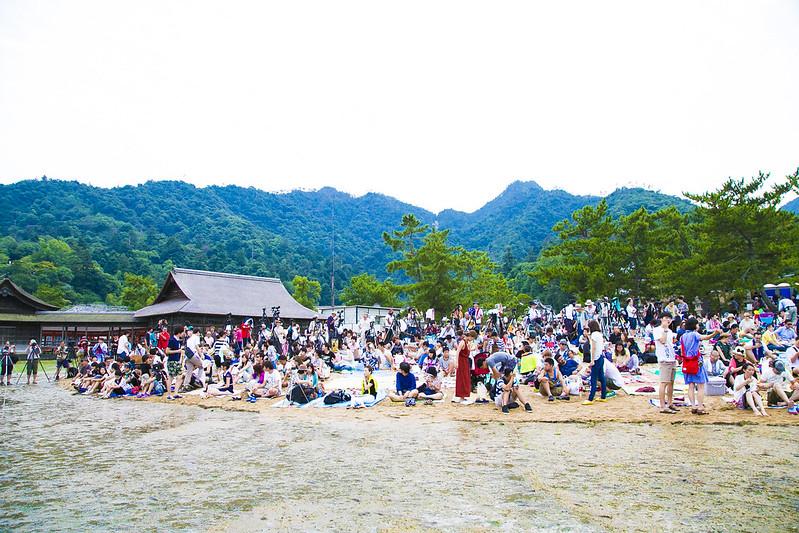 宮島水中花火大会2014Miyajima Water Fireworks Display(大鳥居前)125
