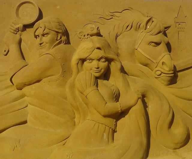 Sculpures sur sable Disney - News Touquet p.1 ! 14770210520_1cbbd41622_z