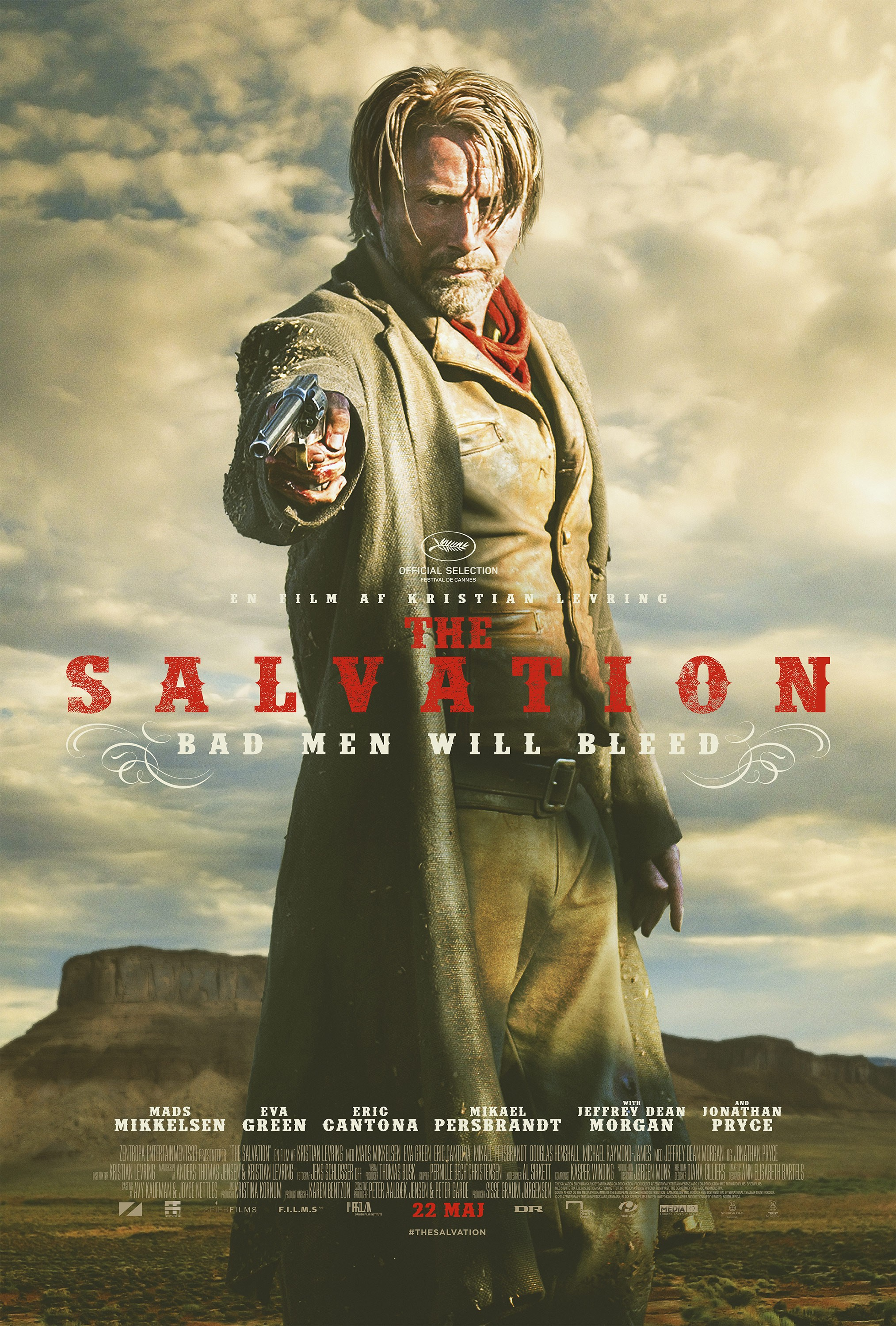 """""""The Salvation"""" posters"""