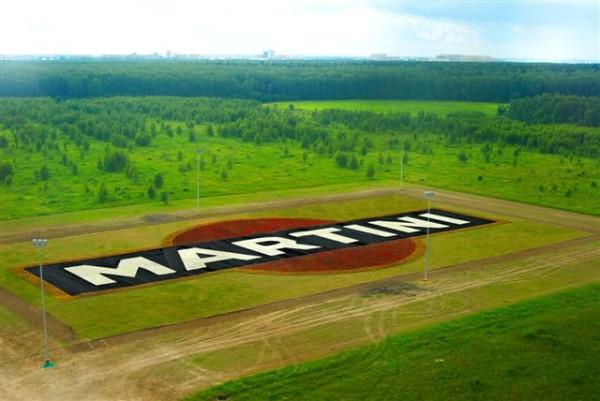 граффити от мартини на поле