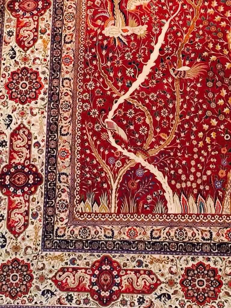 Mashhad 100 Raj Oversize 3.50x5 m