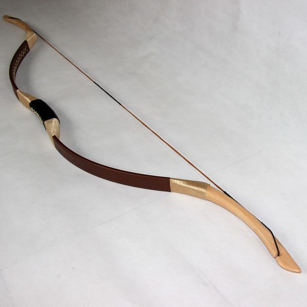 brown 35lb horsebow recurve bow
