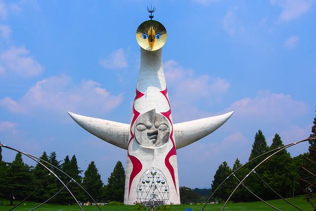 大阪萬博公園「太陽の塔」也要申請成為世界遺產