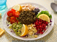 Pomegranate Tea Leaf Salad