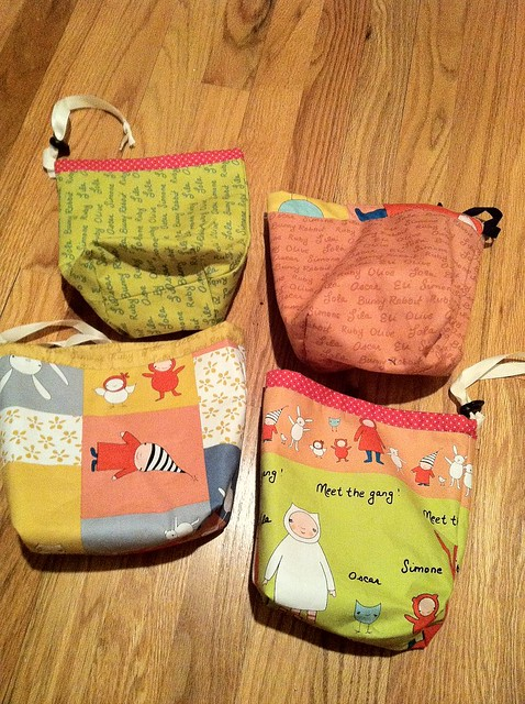 knitting pouches