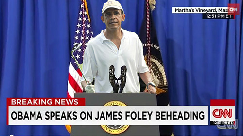 Obama Speaks on James Foley Beheading