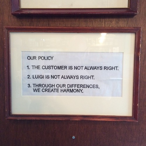 OUR POLICY