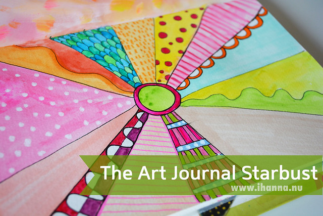 Art Journal Peek: Starburst