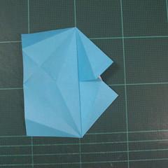 วิธีพับกระดาษเป็นถาดใส่ขนมรูปดาวแปดแฉก (Origami Eight Point Star Candy Tray) 011
