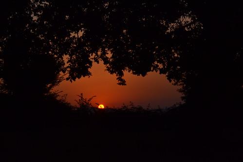 Baia e Latina tramonto