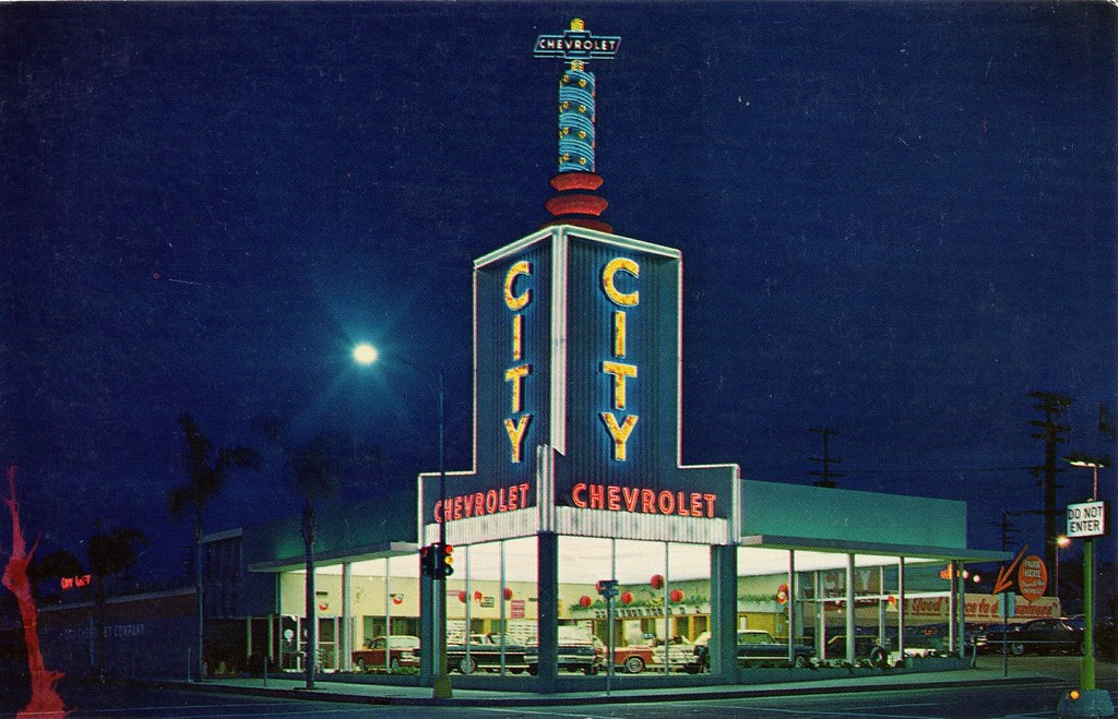 City Chevrolet, San Diego CA, 1963
