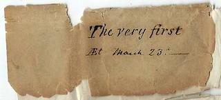 First Steam Press medal wrapper text