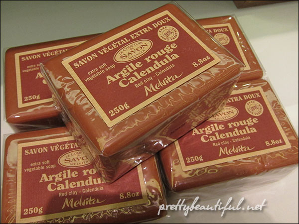 Melvita Red Clay Soap