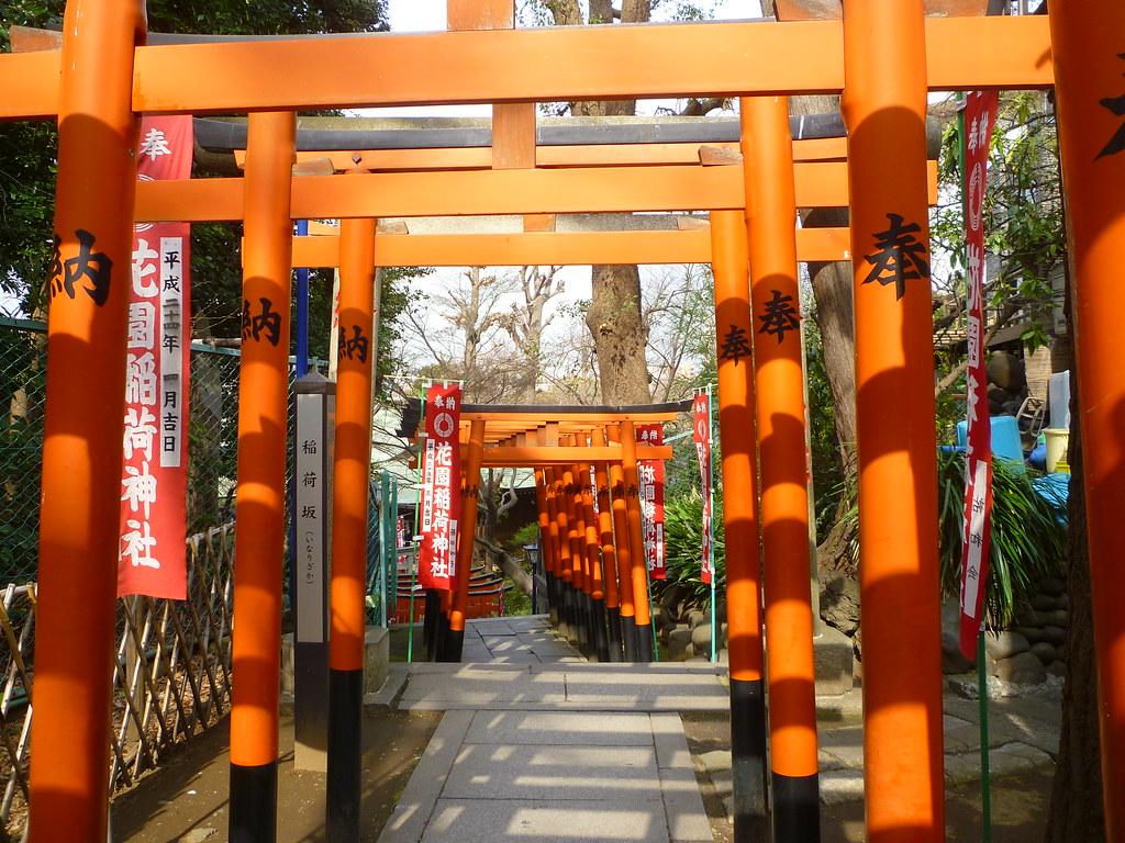 Ueno Park Torii Gates