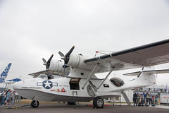 airline(0.0), flight(0.0), aircraft engine(0.0), aviation(1.0), military aircraft(1.0), airplane(1.0), propeller driven aircraft(1.0), vehicle(1.0), consolidated pby catalina(1.0), air force(1.0),