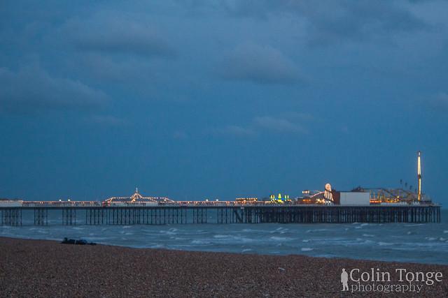 Brighton Palace Pier by Night