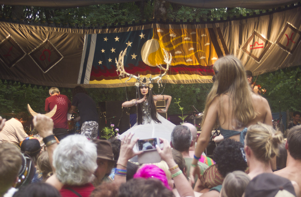 Oregon country fair OCF 2014 fun and games happened tapeparade fields eugene oregon