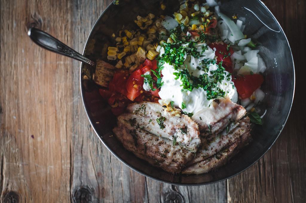 Roast Sardines salad