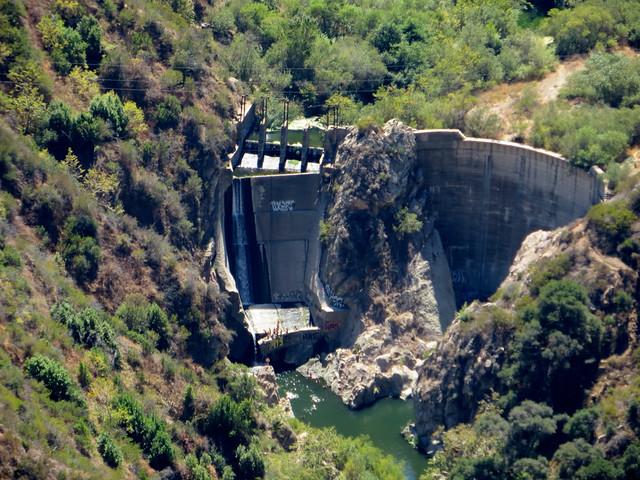 the old Rindge dam