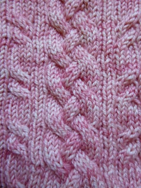 Pink Pony sock WIP (8)