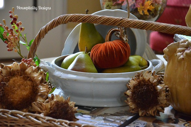Fall Inspired Ironstone Tureen/Housepitality Designs