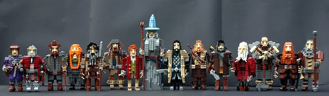 Company of Thorin Oakenshield - Finished!