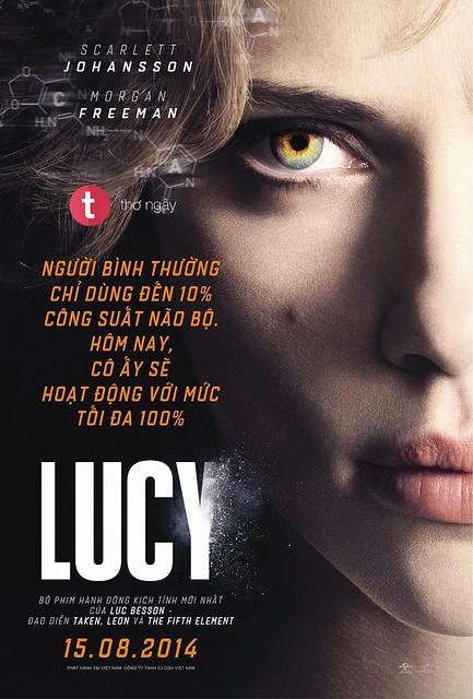 Phim Lucy: Bộ Não Siêu Việt - Lucy