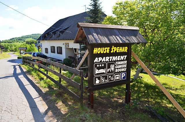 Sign, House Spehar, Plitvice Lakes, Croatia