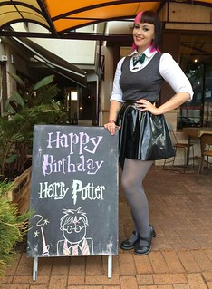 Harry Potter's 34th birthday party