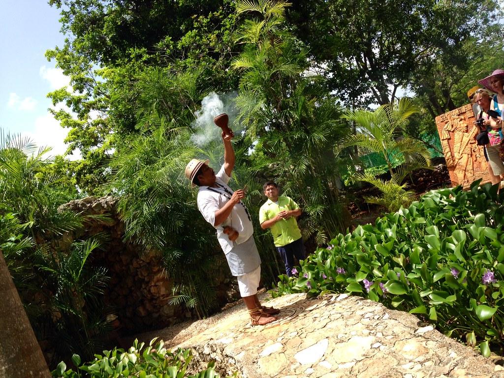 Ancient Mayan rituals