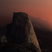 Half Dome by Firelight by LizzyH95