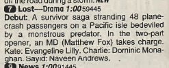 Lost 2004 premiere listing