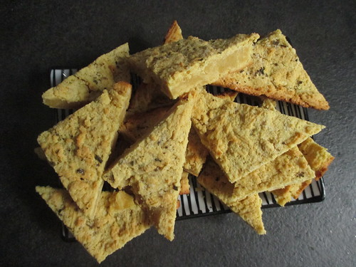 triangolini ceci erbe vegan gluten free