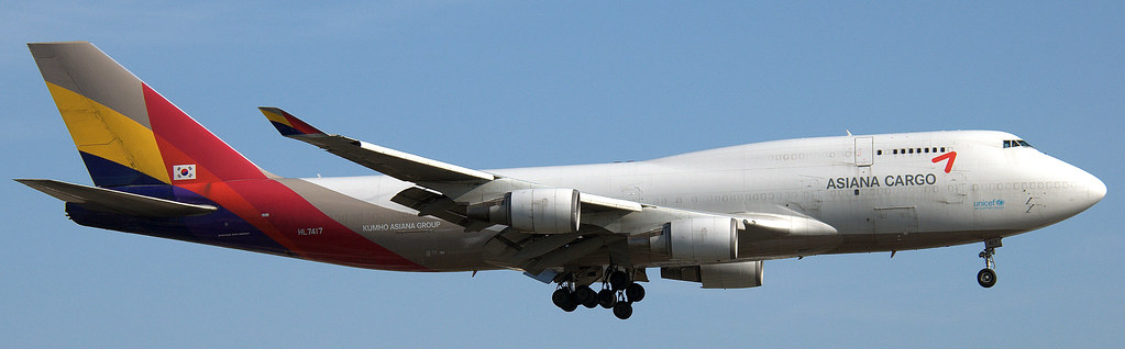 HL7417 - B744 - Asiana Airlines