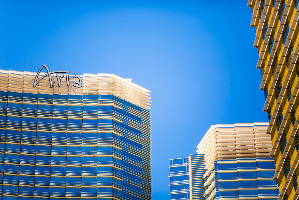 Aria Hotel Review, Las Vegas.