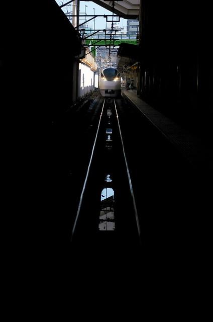 Tokyo Train Story 上野駅にて 特急スーパーひたち2014年9月14日
