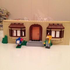 play(0.0), lego(1.0), miniature(1.0), dollhouse(1.0), scale model(1.0), toy(1.0),