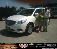 #HappyAnniversary to Paul La Mar on your 2014 #Buick #Enclave from Gene Klinkerman at Four Stars Auto Ranch!