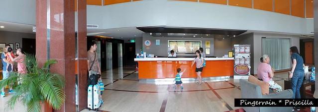 Orange Hotel Lobby
