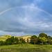 Rainbow over Murlo @ Agriturismo Podere Vignali - Tuscany (Toscana) by Alessandro Boletti